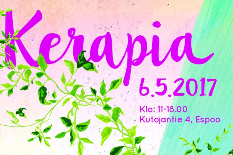 Kerapia ja Keraciné herättävät logistiikkahallin eloon Espoon Kerassa la 6.5.2017